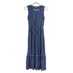 Boho maxi dress size medium